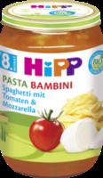 Menü Pasta Bambini Spaghetti mit Tomaten & Mozarella ab 8. Monat