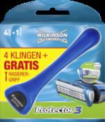 Protector3 Klingen 4St + gratis Griff