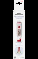 Fieberthermometer digital mit flexibler und vergoldeter Messspitze
