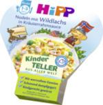 Kinderteller Nudeln mit Wildlachs in Kräuterrahmsauce ab 1 Jahr