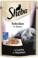 Nassfutter für Katzen, Cuisine Portionsbeutel mit Lachs in Sauce (MSC)