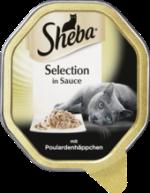 Nassfutter für Katzen, Selection Sauce mit Poulardenhäppchen