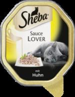 Nassfutter für Katzen, Sauce Lover mit Huhn