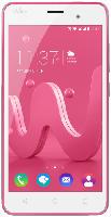 Smartphones - Wiko Jerry 16 GB Pink/Silber Dual SIM