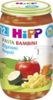Kindermenü Pasta Bambini Rigatoni Napoli ab 12. Monat