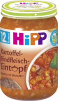 Kindermenü Kartoffel-Rindfleisch-Eintopf ab 12. Monat