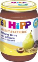 Frucht & Getreide Pflaume-Birne mit Vollkorn ab 6. Monat