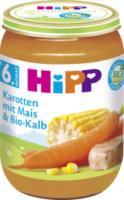Babymenü Karotten mit Mais & Bio-Kalb ab 6. Monat