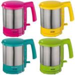 4717 Wasserkocher pink/gelb/türkis/grün