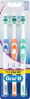 Zahnbürste 1-2-3 Classic Care mittel