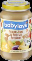 Frucht & Getreide Pflaume-Birne in Apfel mit Butterkeks nach dem 4. Monat
