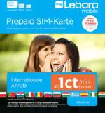 Prepaid SIM-Karte inklusive 10 Euro Startguthaben