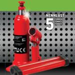 A.T.U Stempel-Wagenheber bis 5 Tonnen, Hydraulikheber