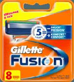 Fusion Manual Rasierklingen