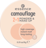 Make-up und Gesichtspuder camouflage 2in1 powder & make-up nude beige 20