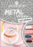 Nagelsticker metal stripes nail stickers 04