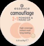 Make-up und Gesichtspuder camouflage 2in1 powder & make-up vanilla beige 30