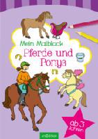 Mein Malblock - Pferde und Ponys