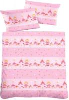 Baumwoll-Linon-Kinderbettwäsche