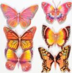 3D-Sticker Schmetterling