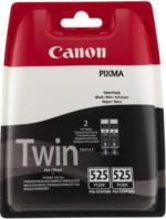Canon Tintenpatrone PGI-525PGBK Schwarz Doppelpack NEU OVP