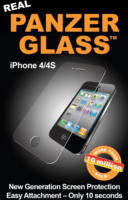 Panzer Glass Folie für Apple iPhone 4/4S Kristallklar Kratzfest NEU OVP