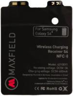 Maxfield Wireless Charging Receiver f. Induktives Laden v. Galaxy S4 NFC NEU OVP