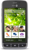 Doro Liberto 820 mini Schwarz WLAN Android 4.4 Hörgerätekompatibel NEU OVP