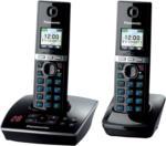 "Panasonic KX-TG8062GB schwarz Duo mit AB, NEU, OVP, 1,45"" Farb-TFT-Display"