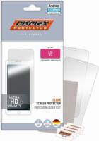 "Displex Protector (2 Folien) für LG G3 - ""Easy-On"" Glasklar NEU OVP Transparent"
