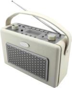 TR 50 BE Kofferradio vanille