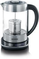 WK 3471 Tee-/Wasserkocher edelstahl/glas