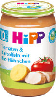 Menü Tomaten & Kartoffeln mit Bio-Hühnchen ab 10. Monat