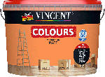 Vincent Wandfarbe Colours, Sunny, 2,5 L