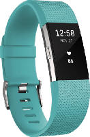 Fitnesstracker - Fitbit Charge 2 Small, Activity Tracker, 140-170 mm, Türkis/Silber