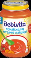 Suppe Tomatensuppe mit Sahne verfeinert ab 8. Monat