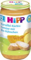 Kindermenü Kartoffel-Kürbis-Gemüse mit Bio-Hühnchen ab 12. Monat