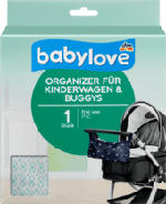 Organizer für Kinderwagen & Buggys, beige / mint
