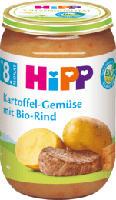 Menü Kartoffel-Gemüse mit Bio-Rind ab 8. Monat