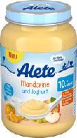 Frucht & Joghurt Mandarine und Joghurt ab 10. Monat