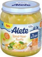 Kindermenü Spinat-Käse-Risotto ab 1 Jahr