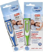 Digitales Fieberthermometer mit flexibler Messspitze