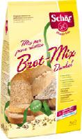 Brot-Mix Dunkel Glutenfreie Backmischung
