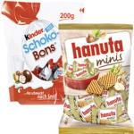 hanuta minis oder kinder Schoko-Bons