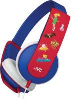 HA-KD5-A-E Bibi Blocksberg Edition Kopfhörer mit Kabel blau/rot