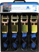 Conacord Spanngurte mit Kompaktratschen und S-Haken im Set