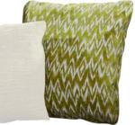 ROLLER Kissen - grün-weiß - 50x50 cm