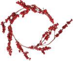 Weihnachtliche Beerengirlande