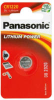 Panasonic Lithium Power Knopfzelle CR1220EL/1BP, 3 V, 1 Stück