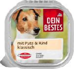 Nassfutter für Hunde mit Pute & Rind, klassisch